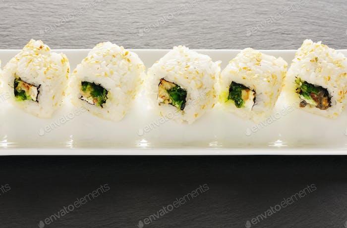 Thumbnail for Sushi rolls