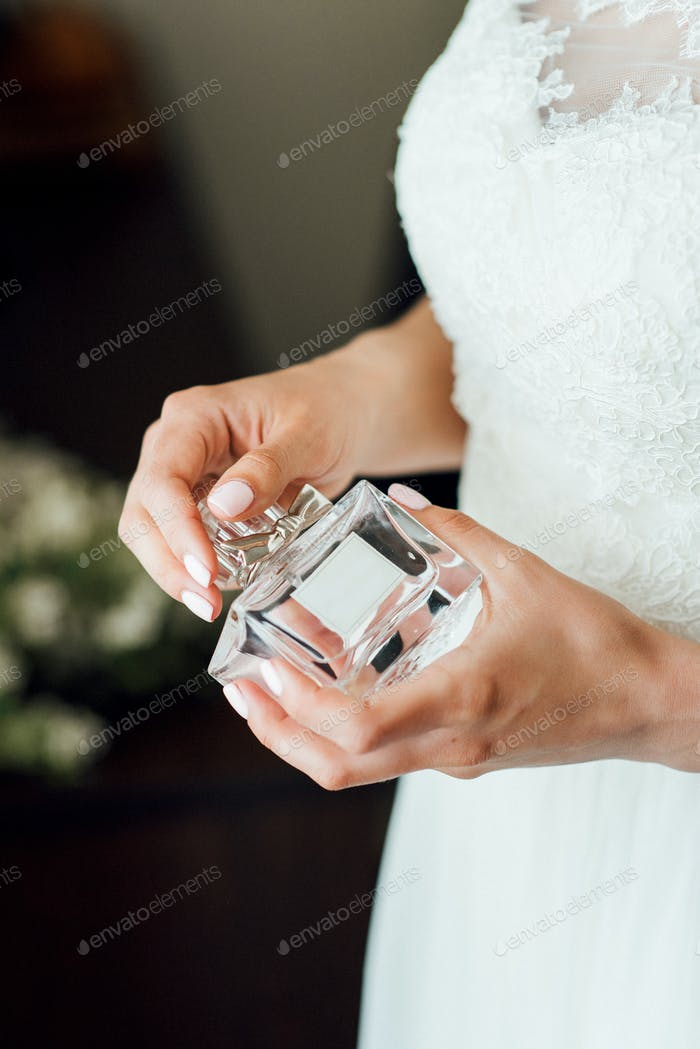 Bride's perfume at the training camp