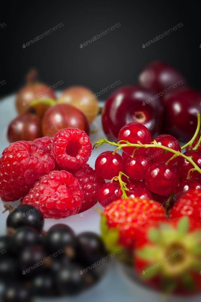 Collection of berries