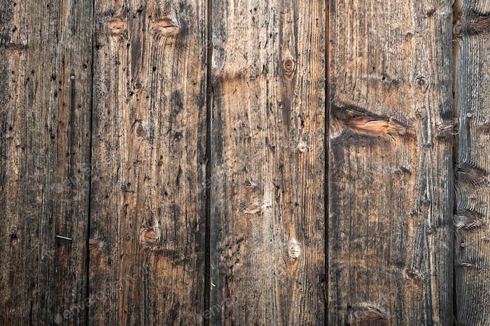 Weathered Oak Wooden Boards Background or Backdrop
