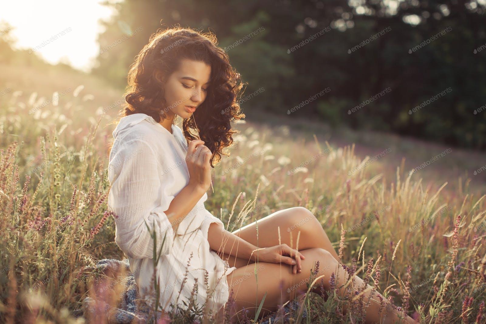 Free Happy Woman Enjoying Nature Beauty Girl Outdoor Freedom Concept Photo By Artfotodima On Envato Elements