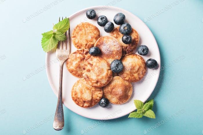 Dutch mini pancakes