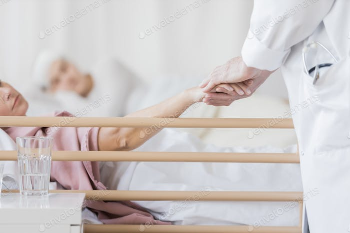 Taking care of patient