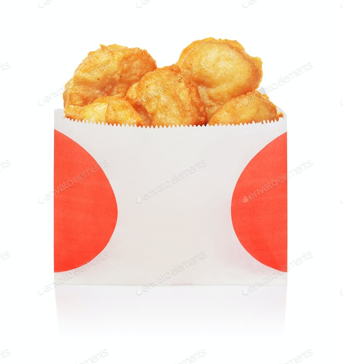 Nuggets Box Set: Chicken Nugget Texture Photo By Ha4ipuri On Envato Elements