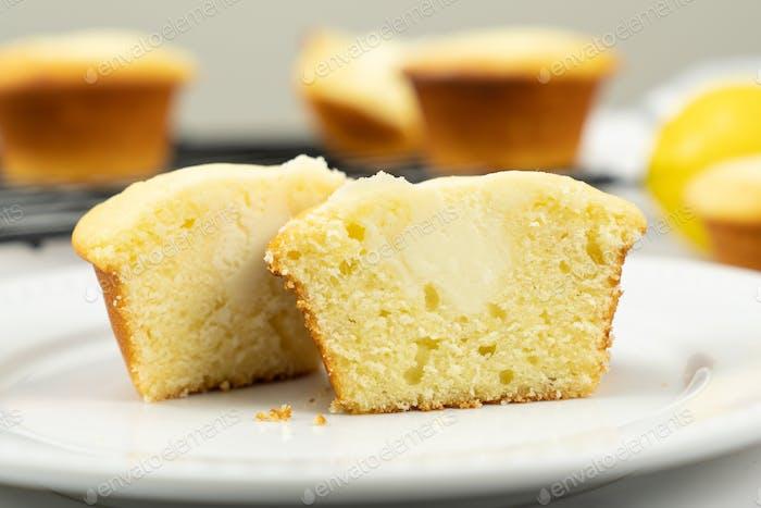 Lemon cream cheese cupcake