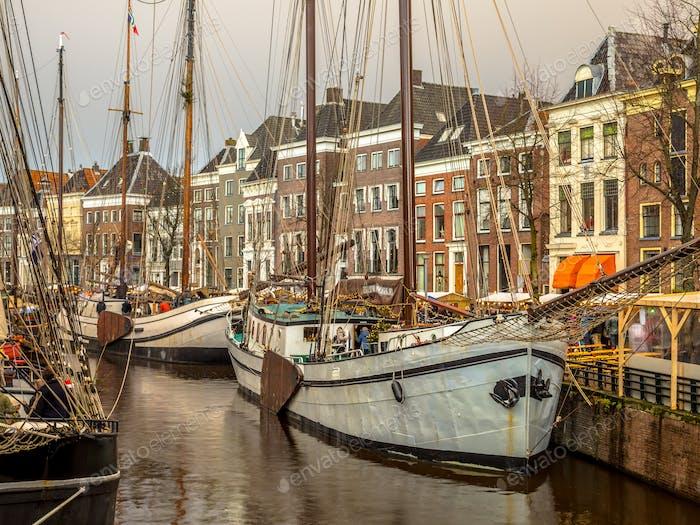 Historische Segelschiffe Hoge der Aa