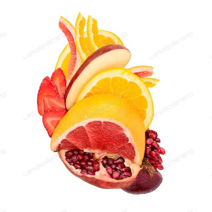Fruity heart.