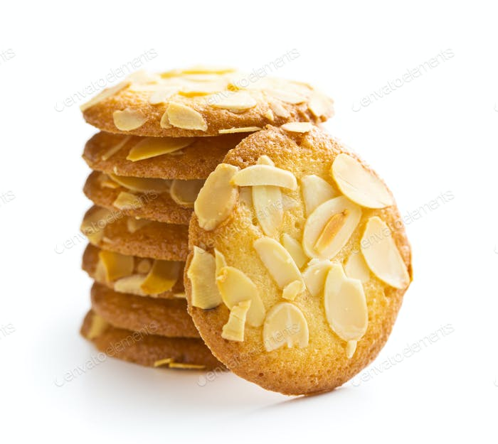 Sweet almond cookies.