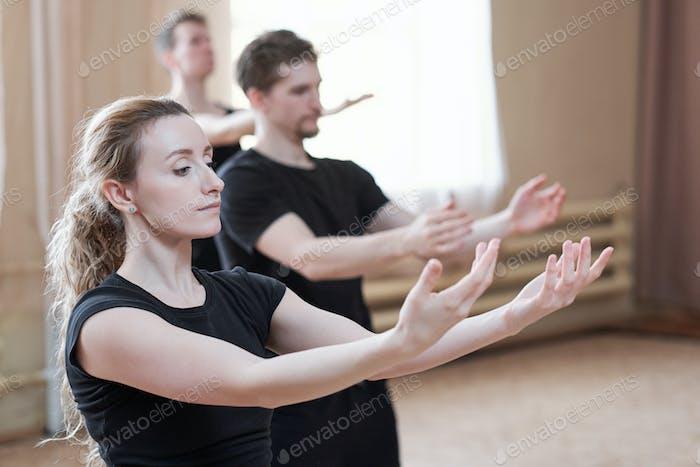 Modern Dancers Portrait