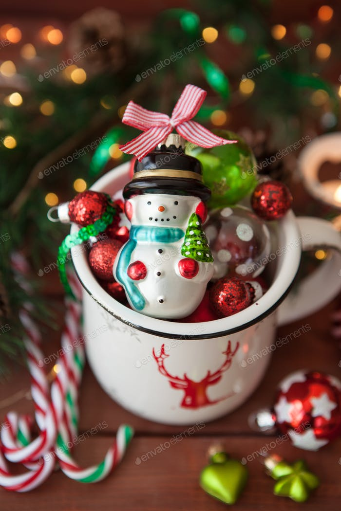 Cheerful Christmas decorations