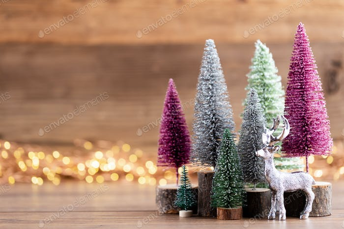 Christmas holiday celebration concept. Greeting card.