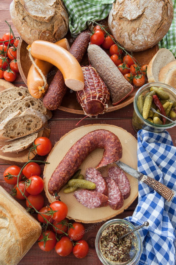 Cured meats and sausages