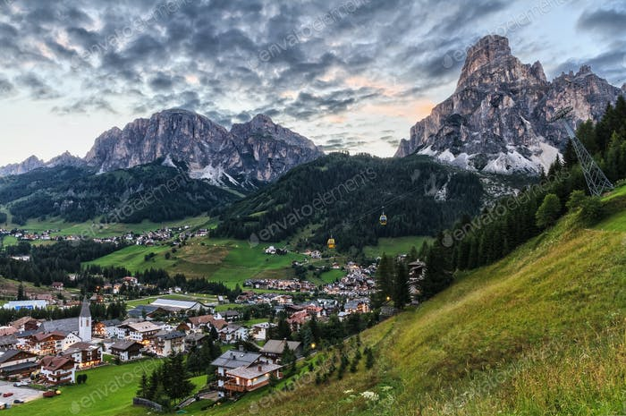 Corvara and Badia Valley