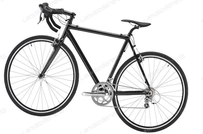 bike on white background
