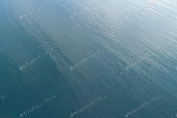 Aerial view of sea wave in the ocean