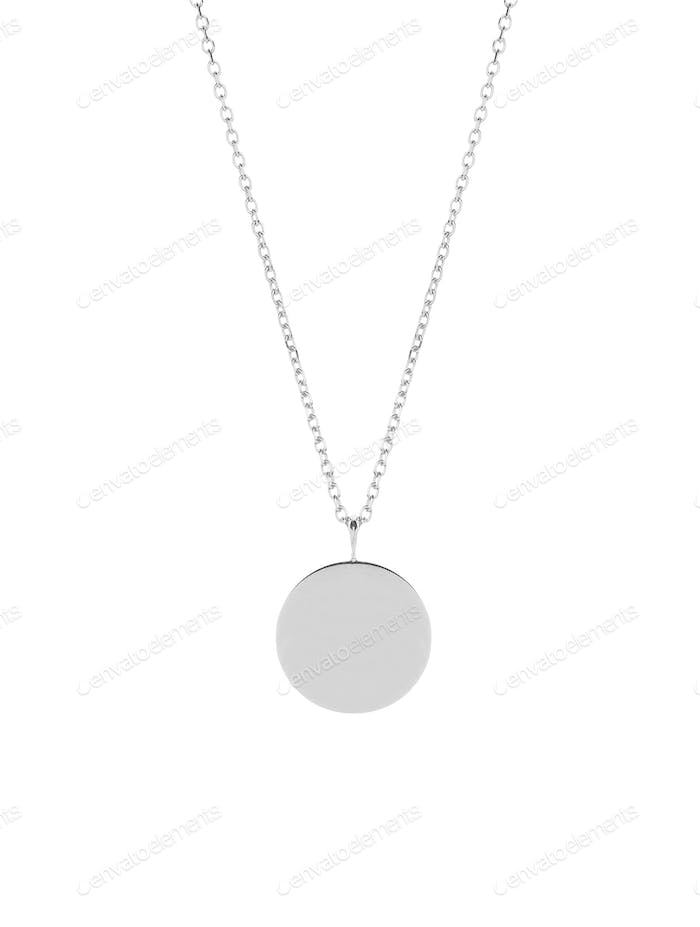 medallion isolated on white
