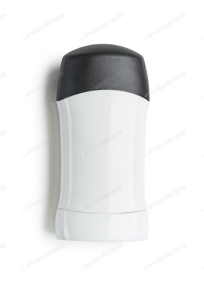 black and white antiperspirant stick