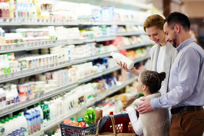 Buying dairy products
