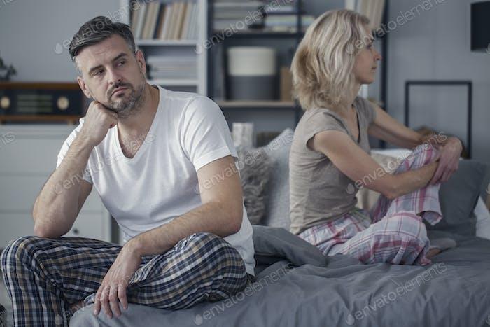 Konflikt in der Ehe