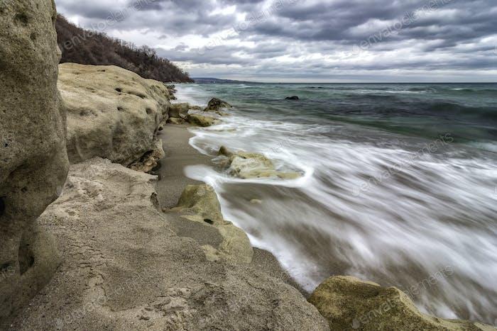 long exposure seascape
