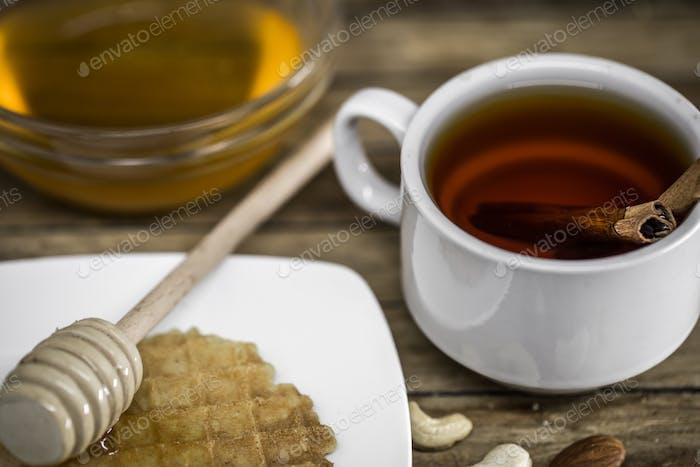 wooden spoon for honey,