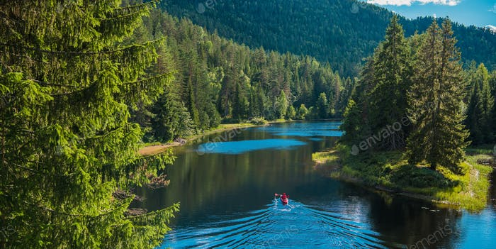 Scenic River Kayak Trip