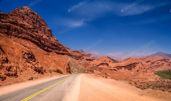 Mountain Road to Cafayate