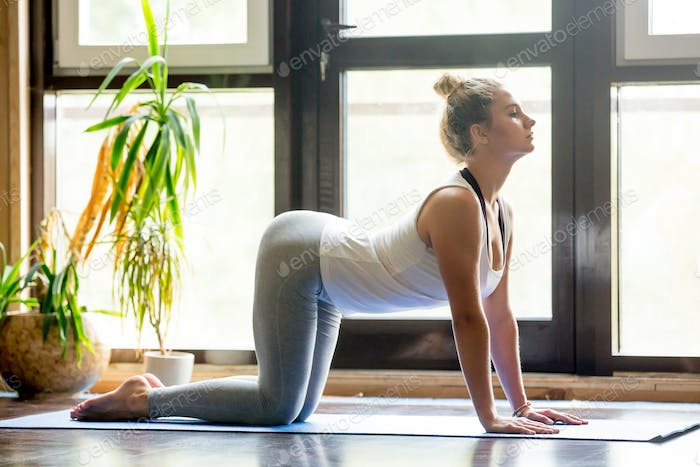 Yoga at home: Cow Pose