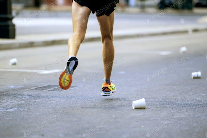 legs runner athlete running