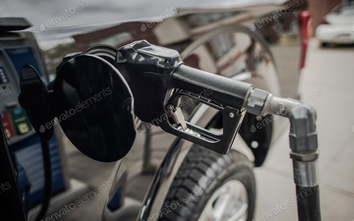 Fueling Pickup Truck