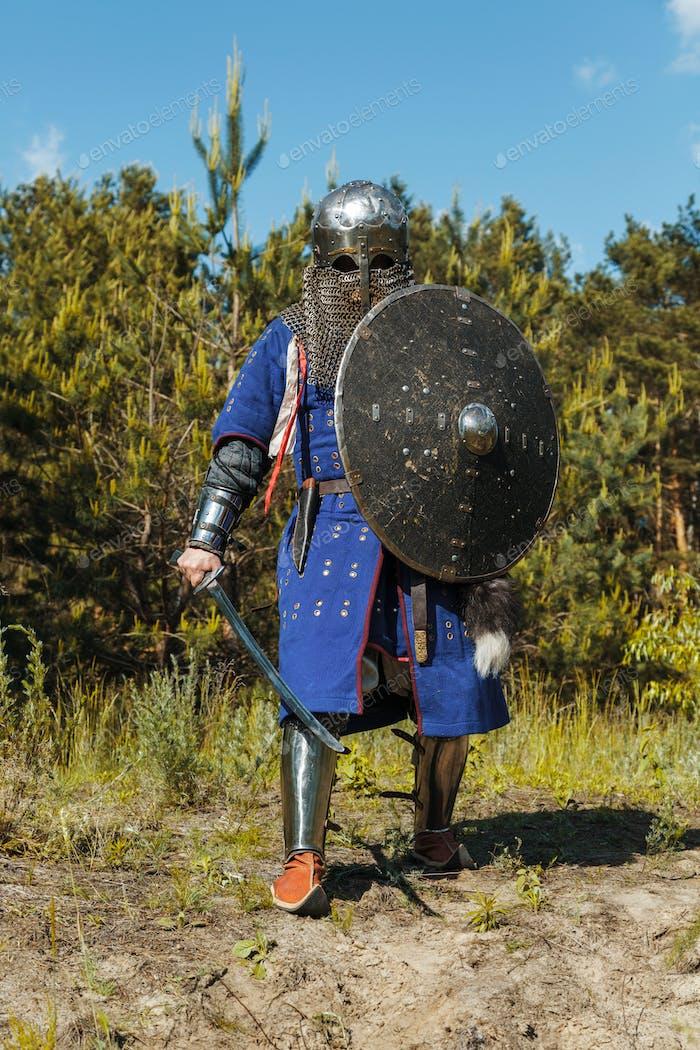 Mongolische Horde Krieger