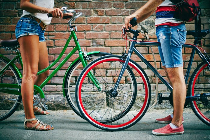 Weekend with bicycles