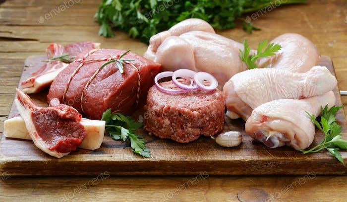 Rohfleisch Sortiment