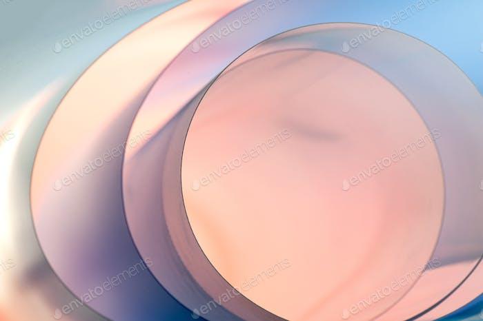 Schöner Hintergrund in Rosa- und Blautönen mit einem Farbverlauf. Ho