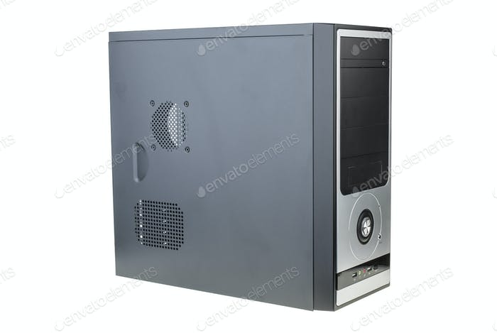 Black personal computer