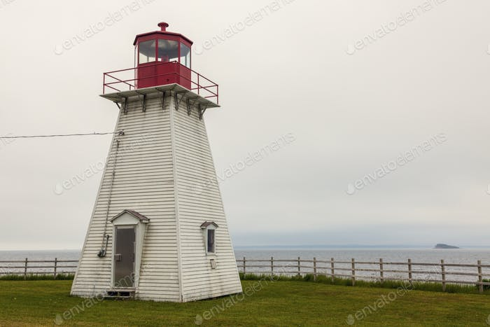 Jerome Point Lighthouse in Nova Scotia