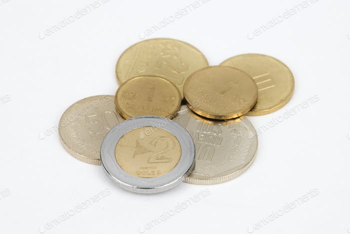 Peruvian money - Sol