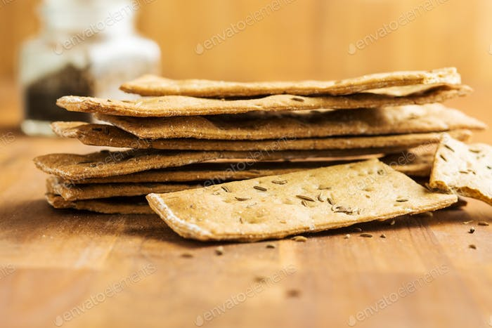 The healthy crispbread.