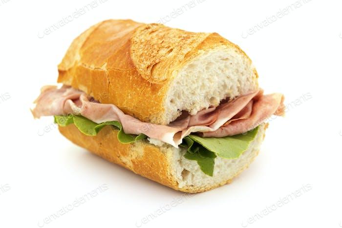 sándwich francés