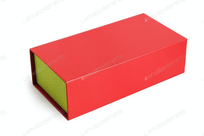 Red Oriental Gift Box
