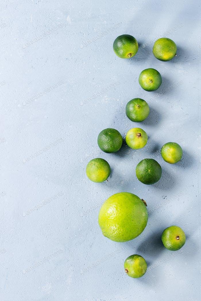 Lime and mini limes