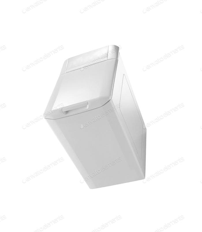 Porttable Kühlung isoliert auf weiß