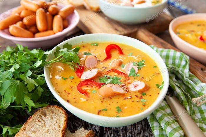 Delicious vegetable stew