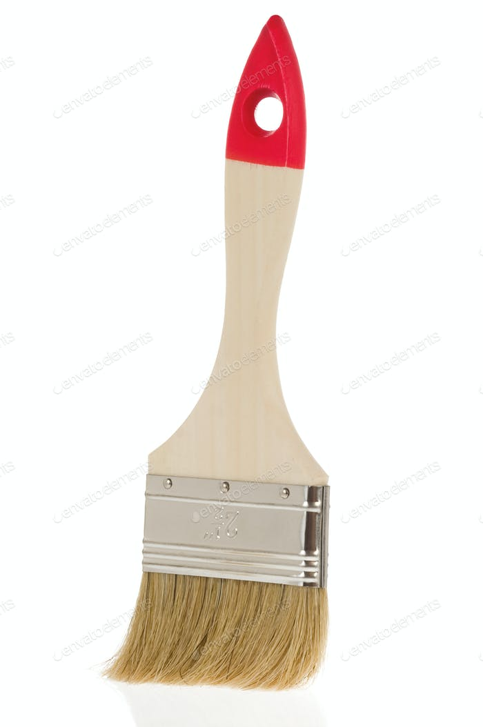paintbrush isolated on white
