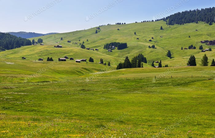 Seiser Alm, Dolomiten Alpen, Italien