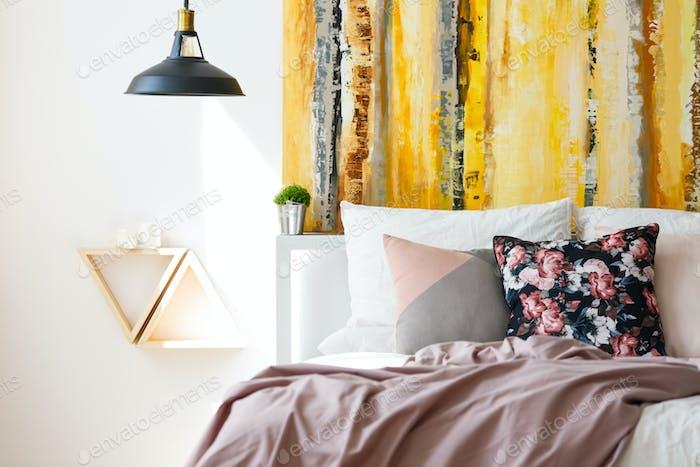 Pink pastel bedding