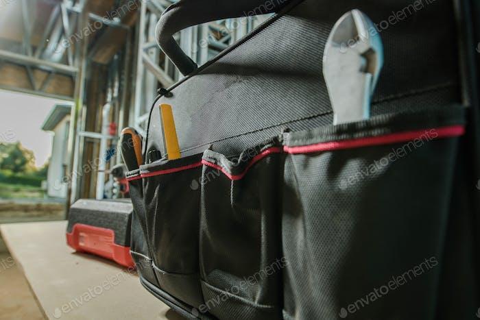 Bauunternehmer Werkzeugtasche