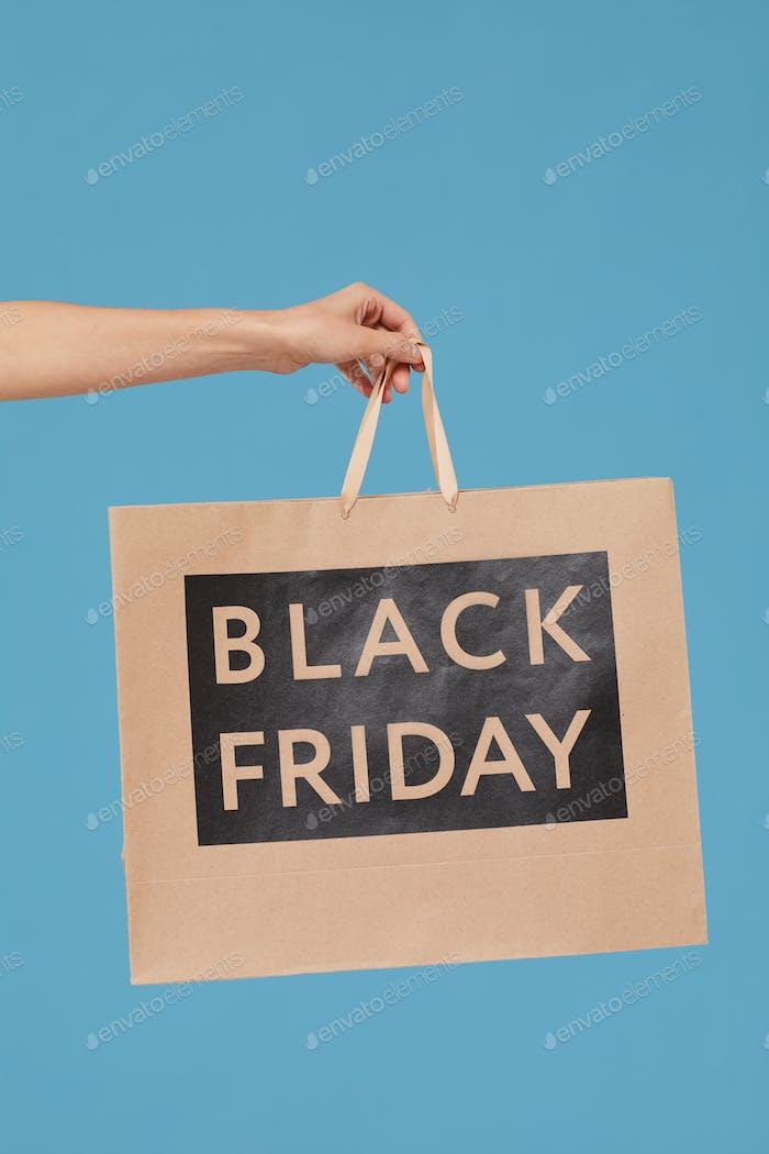 Black Friday Einkaufstasche