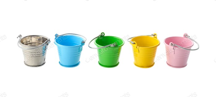 Thumbnail for Colorful buckets