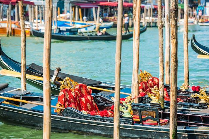 Venice Grand Canal Gondolas